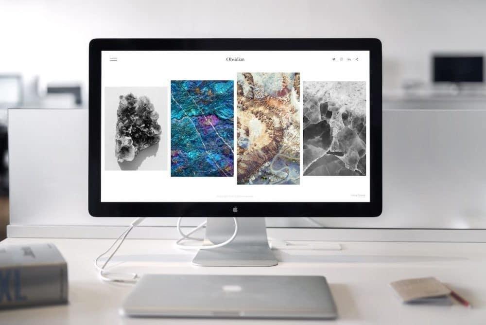 Website Webseite oder Homepage